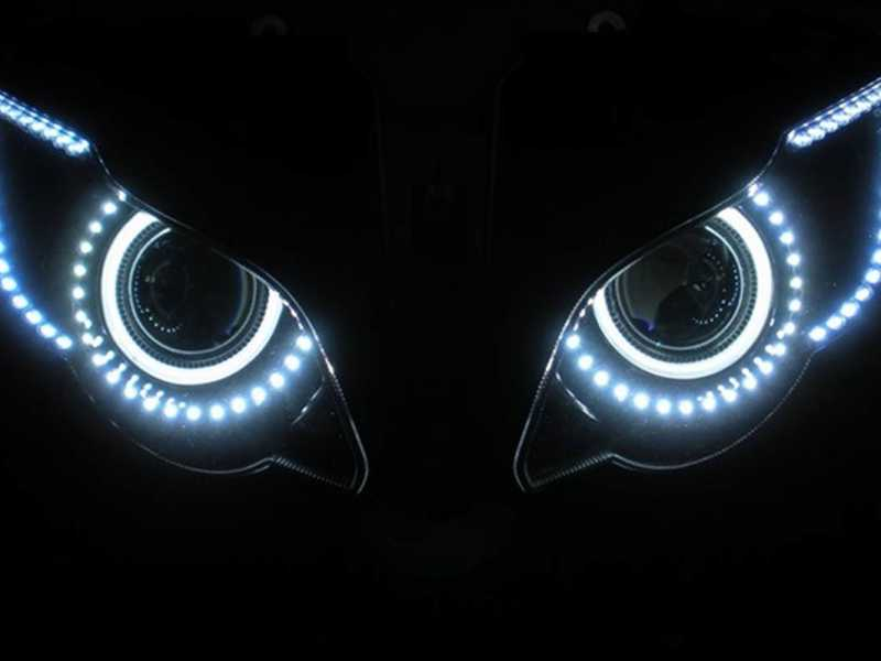 Как сделать ангельские глазки на машину